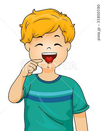 Boy Point Tongue 35800590