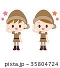 妖精 男の子 女の子のイラスト 35804724