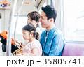 ファミリー 電車 撮影協力・京王電鉄株式会社 35805741