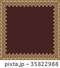 フレーム 装飾 装飾用のイラスト 35822988