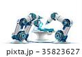 メカニカル 手術 ロボットのイラスト 35823627