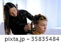 美容師 女 女の人の写真 35835484