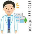 小さい病院と医師 35840215