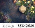 クリスマス バックグラウンド 背景の写真 35842689