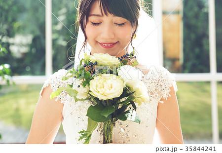 花嫁 新婦 ウエディングフォト 女性 35844241