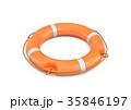 浮き ライフブオイ レスキューのイラスト 35846197