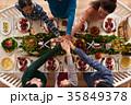 テーブル ごちそう パーティーの写真 35849378