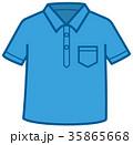 ポロシャツ 衣類 ベクターのイラスト 35865668
