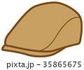 衣類 帽子 ハンチング 35865675