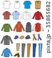 衣類 男性セット 35865682