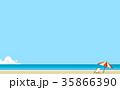背景:ビーチ 35866390