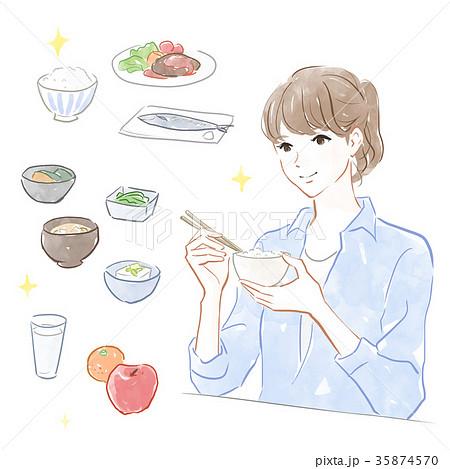 健康的な食事 35874570