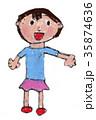 子供のイラスト 35874636