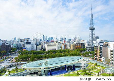名古屋都市風景・秋の栄界隈 35875155