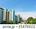 青空 マンション マンション街の写真 35876022