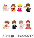 ライフサイクル 人物 女性のイラスト 35880047