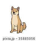 犬 ベクター 戌のイラスト 35885056