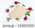 便箋と花 35892059