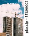 建築 アジア ブルーの写真 35899002