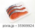 鮭 切り身 銀鮭の写真 35909924