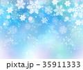 雪 冬 模様のイラスト 35911333