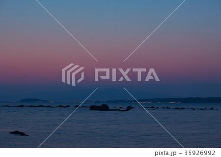 葉山・森戸海岸  自然風景 35926992