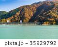《東京都》奥多摩湖・自然風景 35929792