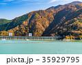 《東京都》奥多摩湖・自然風景 35929795