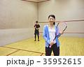 スポーツジム スカッシュ 35952615