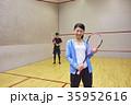 スポーツジム スカッシュ 35952616