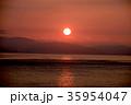 瀬戸内海 淡路島 日の出の写真 35954047