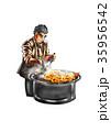 インド料理をする人 35956542