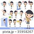 school girl Brown Blazer_complex 35958267