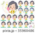 女 女性 人々のイラスト 35960486