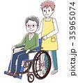 車椅子 シニア 介護 35965074