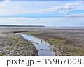 ケアンズの海に川ができた 35967008