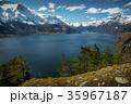 ノルウェー フィヨルド 湖の写真 35967187