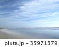 海 砂浜 波打ち際の写真 35971379