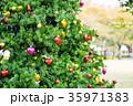 クリスマス クリスマスツリー 飾りの写真 35971383