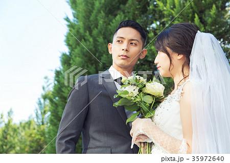 フォトウエディング 結婚 新郎新婦 35972640