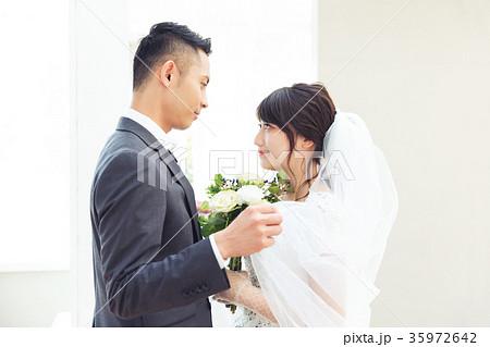 結婚式 ベール 35972642