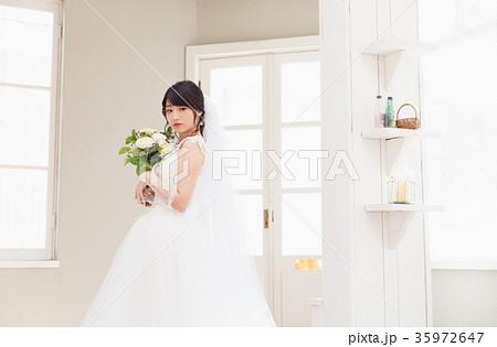 花嫁 新婦 ウエディングフォト 女性 35972647