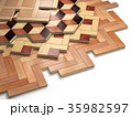 フロア 床 床材のイラスト 35982597