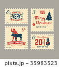 クリスマス デザイン 柄のイラスト 35983523