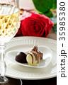 バレンタイン バレンタインデー チョコレートの写真 35985380