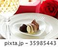 バレンタイン バレンタインデー チョコレートの写真 35985443