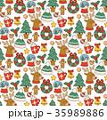 ベクター クリスマス デザインのイラスト 35989886