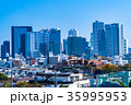 都市風景 ビル街 ビジネス街の写真 35995953