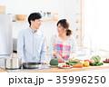 新生活 夫婦 キッチンの写真 35996250