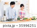 新生活 夫婦 キッチンの写真 35996251